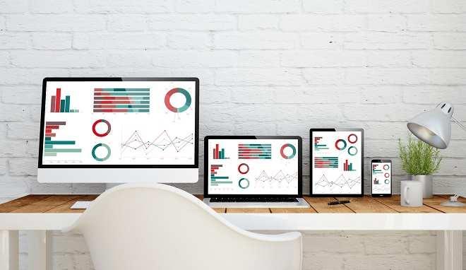 multidevice desktop finances